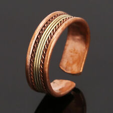 Adjustable Indian Tibetan Medicine Ring Copper Magnetic Ring With Pure Copper