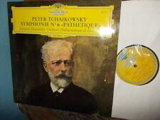 "TCHAIKOVSKY: Symphony n°6 ""Pathetique"" > Mravinsky / DGG Tulip stereo France Exc"