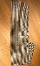 Linen-Cotton Table Runner — Laura Ashley  Vintage Gingham Fabric  Approx 196cm