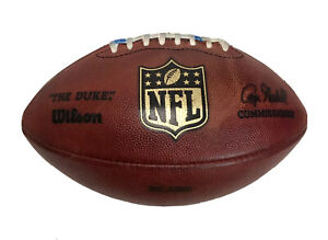 "Wilson ""The Duke"" Goodell NFL Game Used Chicago Bears Kicker Football"