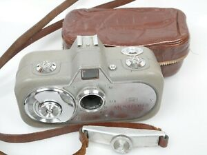 Zeiss MOVIKON 8 Filmkamera + Movitar 1,9/10mm + selt. Lederta. rare leather case