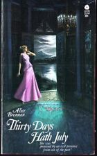 Thirty Days Hath July Alice Brennan Avon First Printing 1975 Gothic