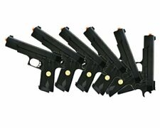 Lot of 6 - Double Eagle P169 1911 Airsoft Hand Gun Full Size Spring Pistol w 6mm
