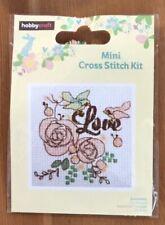 Minl Cross Stitch Kit Love
