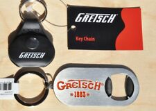 Gretsch Keychain Pick Holder And Keychain Bottle Opener
