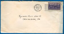 Stamp #835, 3 Cent Constitution Ratification On Cover, Atlantic City, NJ 1938