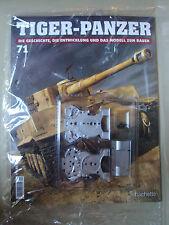 Hachette, Modellbau,Tiger-Panzer Nr. 71, Neu & OVP