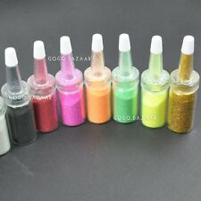12 Colors New Nail Art Glitter Powder Dust UV GEL Acrylic Powder Decoration
