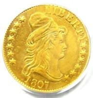 1807 Capped Bust Gold Half Eagle $5 Coin - PCGS Certified - XF / AU Details