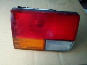 1992-1993 HONDA ACCORD LEFT DRIVER REAR TRUNK LID mounted TAIL LIGHT LAMP OEM