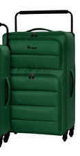 It Luggage World's Lightest Spinner Quilted Front Panel Pine Green Large 83cm