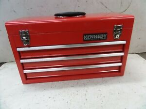 BRAND NEW and UNUSED Kennedy Tools 3 drawer tool chest tool box