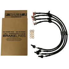 Time Attack® PowerStop by Goodridge Braided Brake Lines - NISSAN SKYLINE R32