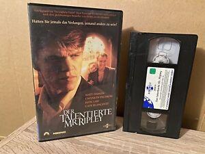 [VHS] DER TALENTIERTE MR. RIPLEY (1999) Matt Damon | GWYNETH PALTROW | AZ4