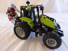Lego Duplo Ville Bauernhof 1 X GROSSER TRAKTOR Rot Trekker Trecker aus 10524