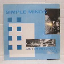 SIMPLE MINDS Sister Feelings Call 1981 VINYL LP Import Germany In Shrink