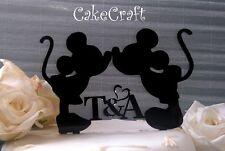Acrilico iniziale Mickey Minnie Mouse Compleanno Anniversario Decorazione Cake topper