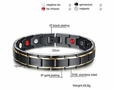 Energy Jewellery Biomagnetic Bracelets for diabetes&Other problem -Do not ignore