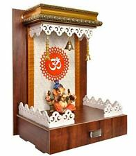 New Home Office Temple Hindu Mandir Mandap for Pooja Worship Wall Art