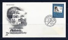 FDC UN New York #714 Tribute to Philately 50c ARTCRAFT U/A First Day 1997