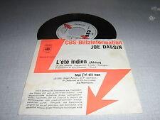JOE DASSIN 45 TOURS GERMANY PROMO L'ETE INDIEN+