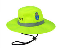2018 State of Origin NSW New South Wales Blues High Vis Work Sun Safety Hat Cap
