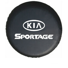 "Black New Spare Wheel Tire Cover Bag Dust Protector 14"" or 15"" for KIA Sportage"