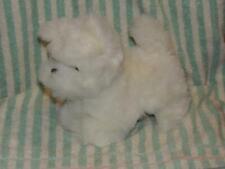 Plush White Scottish Terrier Scottie Puppy Dog Yips Stuffed