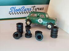 16 pneus URETHANE mini Cooper   SCALEXTRIC
