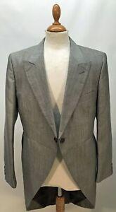 Moss Bros Grey Morning Coat