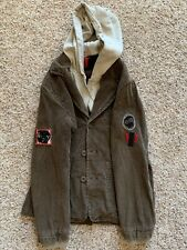 SKHUABAN SIZE 10/11 Years Youth Corduroy & Cotton JACKET COAT Brown