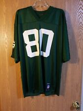 Donald Driver #80 Green Bay Packers Reebok Jersey Adult L