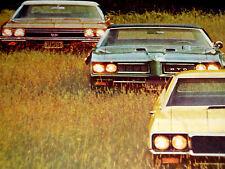 1968 OLDSMOBILE/OLDS 442/BUICK SKYLARK GS/GTO/CAMARO-PRINT AD/picture/poster/art