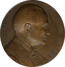Medal - Professeur Raymond DELABY Academie de médecine UNC