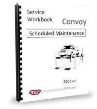 LDV Convoy Van Minibús programado Maint. Manual 2.4 02 >