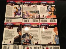Hikaru no Go Manga Book Lot Volume 1 2 3 4 5 6 Yumi Hotta Takeshi Obata