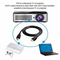 Hochwertiges schwarzes HDMI-Kabel HD High Speed 4K 1080P 3D-Kabel L6M3