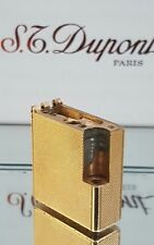 ST DuPont Lighter's Parts Line 1 Small Gold Good Condition A01