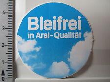 Aufkleber Sticker ARAL - Bleifrei in Aral Qualität - Gas - Benzin (S1143)