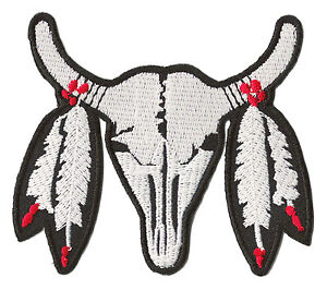 Badge Patch Heat Seal Indian Bufalo Fusible Patch