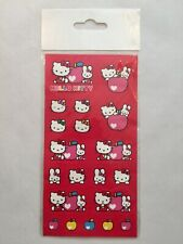 Sanrio 2003 Hello Kitty Apples & Cathy Stickers New In Package