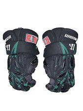 warrior players club edition Sugar Daddy mens lacrosse gloves black/green Large