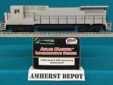 9000 Atlas HO Dash 8-40B Undecorated DCC Locomotive  NIB