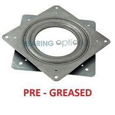 "LAZY SUSAN Bearing 3"" or 75mm Swivel Turntable BEARING square (PRE - GREASED)"