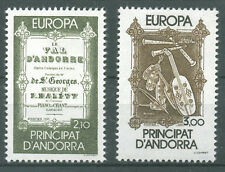 timbres neufs Andorre YT 339 - 340** Europa