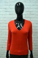 Maglia Donna CALVIN KLEIN Taglia Size L Maglietta Blusa Shirt Woman Manica 3/4