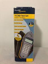 Brand New Fluke Networks TS 25D Test Set Indoor/Outdoor