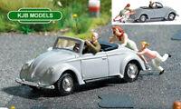 BNIB OO / HO BUSCH 7823 Push Start - Broken Down VW Car With Figures