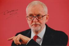 More details for jeremy corbyn hand signed 12x8 photo uk politics autograph 1