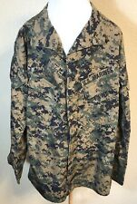 American Apparel Size Medium SHT Marines USMC Digital Camo Shirt Jacket